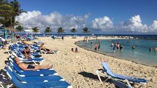 Coco Cay: Live-Rundgang über die Insel von Royal Caribbean International