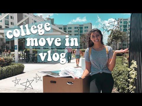 COLLEGE MOVE IN VLOG 2018   Florida Atlantic University
