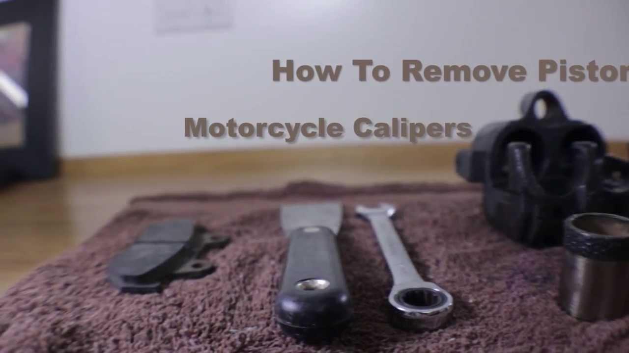Brake Caliper Piston Removal