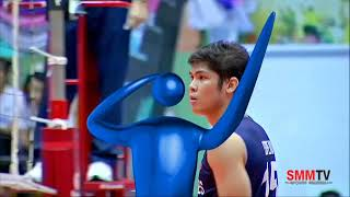 HIghlights - Philippines National Mens Volleyball Team vs. Thai Army
