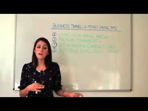 Ways to Save Money During Business Travel