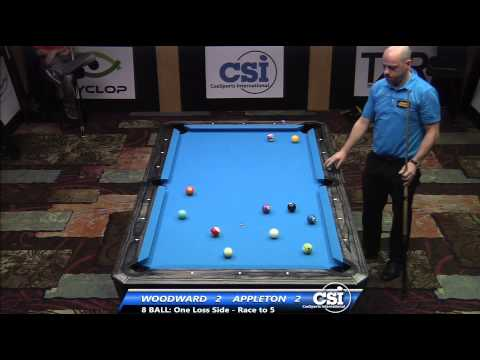 2014 CSI USBTC 8 Ball: Darren Appleton vs Skyler Woodward