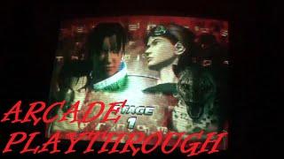 Arcade Playthrough: Tekken Tag Tournament/ Lei Wulong & Jin Kazama