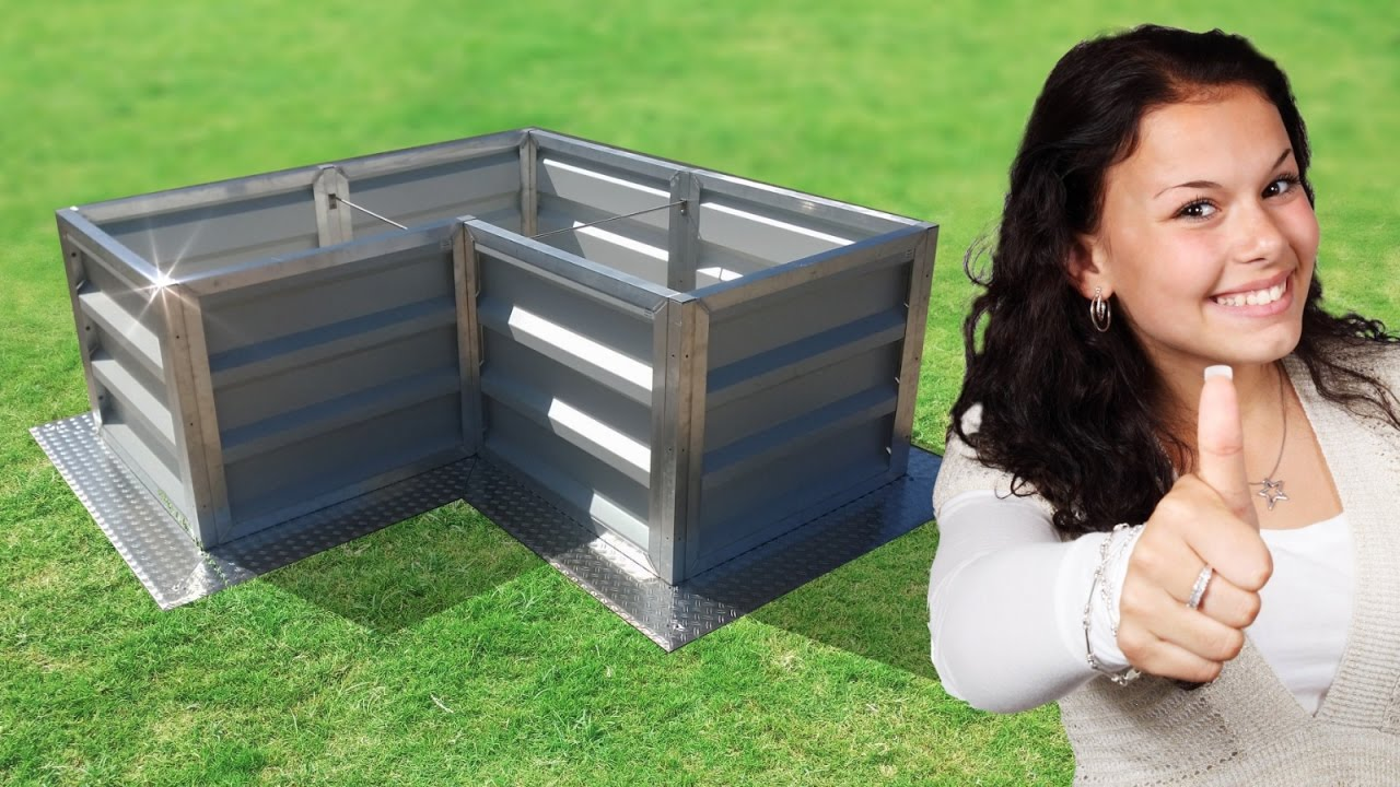 Hochbeet Metall Selber Bauen Kaufen Bausatz Bestellen Gunstig Angebot Alu Pulverbeschichtet