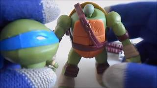 Tartaruga Ninja de Brinquedo - Teenage Mutant Ninja Turtles MUTATIONS Mix Match