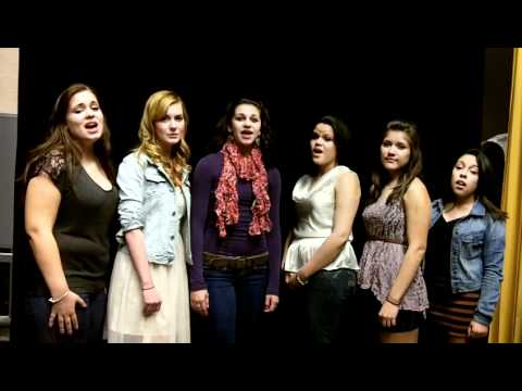 girls acapella group last christmas