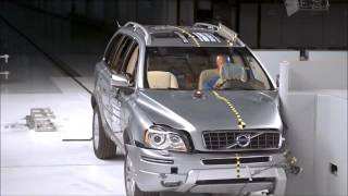 Crashtest Volvo XC90 old vs new 2012 vs 2016