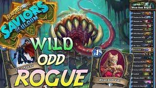 Wild Odd Rogue Deck   Saviors of Uldum   Hearthstone