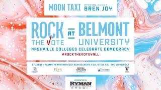 Rock The Vote at Belmont University: Nashville Colleges Celebrate Democracy
