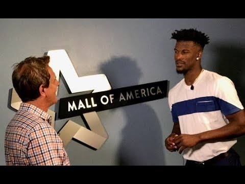 Jimmy Butler chats 1-on-1 with Eric Perkins