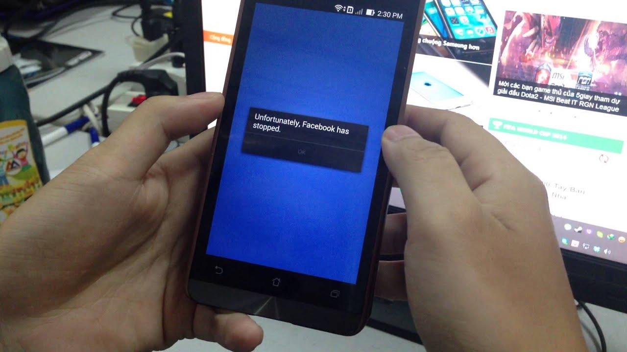 Facebook 11.0.0.11.23. không chạy được trên Zenfone (1)