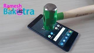 Nokia 5 Screen Scratch Test Gorilla Glass