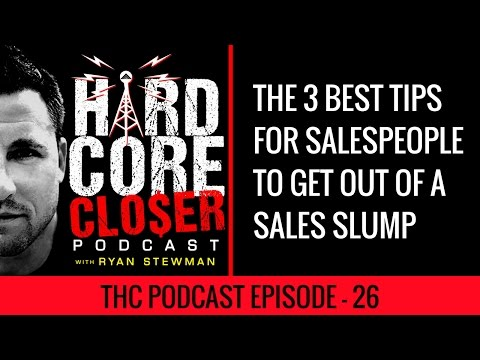 3 Pro tips For Salespeople To Pull Out Of A Sales Slump