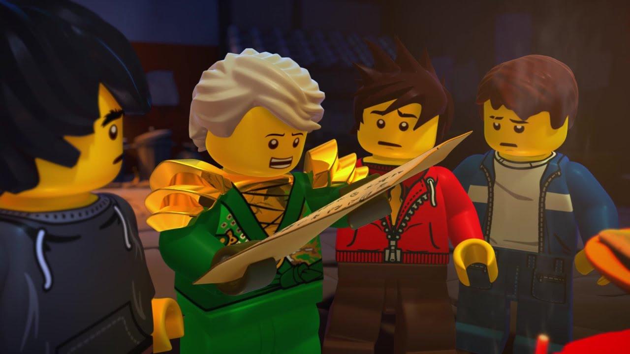 Lego Ninjago Turniej żywiołów Części 1 I 2 Oficjalny Zwiastun