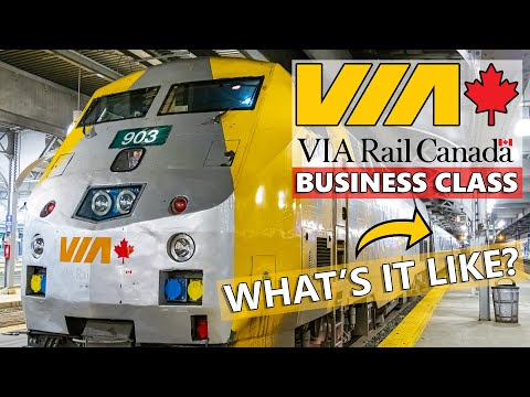 VIA RAIL CANADA Business Class - What's It Like?