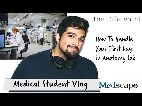 The Med Student Differential | How To Handle Your First Day in Anatomy Lab