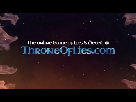"♔ Throne of Lies - Official Trailer - ""The Court Wizard & The Sage"" (OLD GFX)"