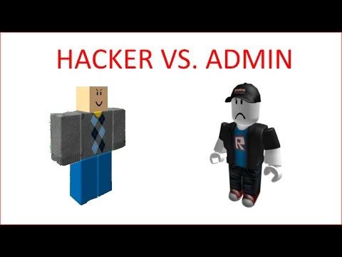Roblox Hacker Vs Admin Youtube - roblox jailbreak hacker vs admin
