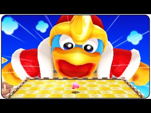 Kirby's Blowout Blast - All Bosses