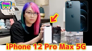 I bought an iPhone 12 Pro Max!