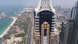 Best Palm Jumeirah view from Princess Tower in Dubai Marina