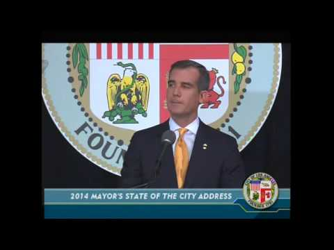 Los Angeles State of the City 2014