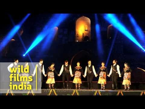 Folk dancers of Turkey perform in Delhi