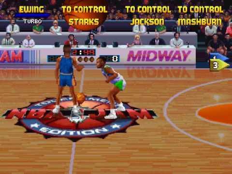 NBA Jam Tournament Edition  ~ Sega Saturn