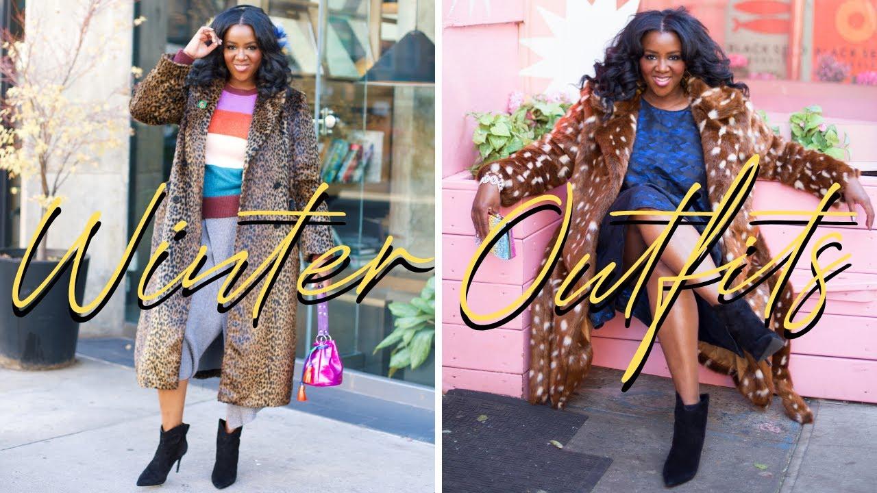[VIDEO] - What to Wear in the Winter: Cute and Colorful Winter Outfits Lookbook! (Winter Coats 2019) 8