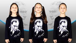 Ceylin-H | Atatürk Ölmedi Yüreğimde Yaşıyor ( 10 Kasım Çocuk Şarkısı )