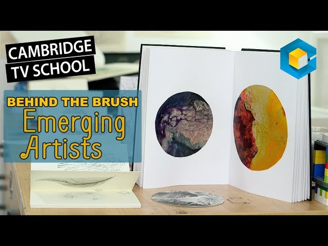 Behind the Brush - Emerging Artists