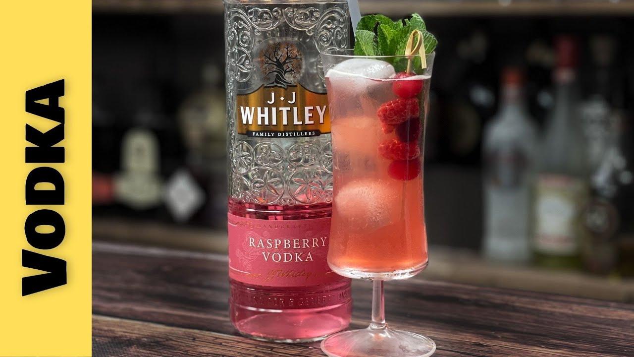Easy Vodka Cocktails Recipes - RASPBERRY, CRANBERRY & AMARETTO