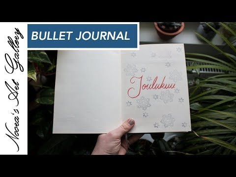 Bullet Journal - Joulukuu - Noora's Art Gallery