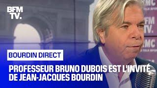 Professeur Bruno Dubois face à Jean-Jacques Bourdin en direct