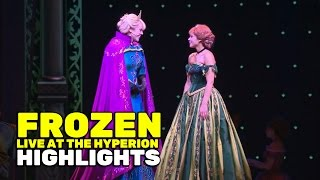 """Frozen - Live at the Hyperion"" stage show highlights at Disneyland"