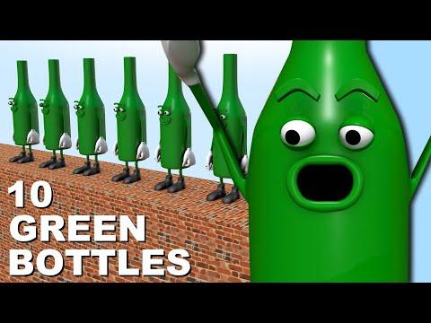 10 Green Bottles | Children's Nursery Rhyme | The Nursery Channel