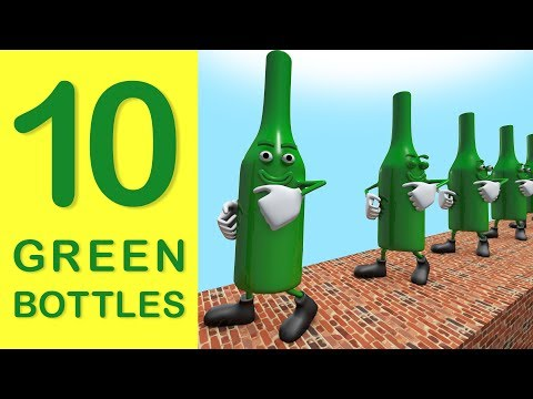 10 Green Bottles | Children's Nursery Rhyme | The Nursery Channel