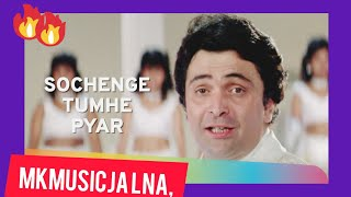 Sochenge Tumhe Pyaar Kare Ke Nahi ,| Deewana Song | Rishi Kapoo, cover by Mahesh Kumar and Geeta,