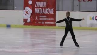 6 Michal WIECZOREK FS Soliści Srebrna X Zawody Mikołajkowe 2016
