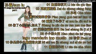 11 the best songs by 孙露-sunlu  part 1