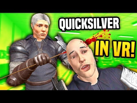 BECOMING QUICKSILVER IN VIRTUAL REALITY - Blade And Sorcery VR Mods (Update 7)