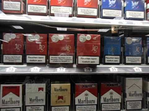 How to buy cigarettes in Germany