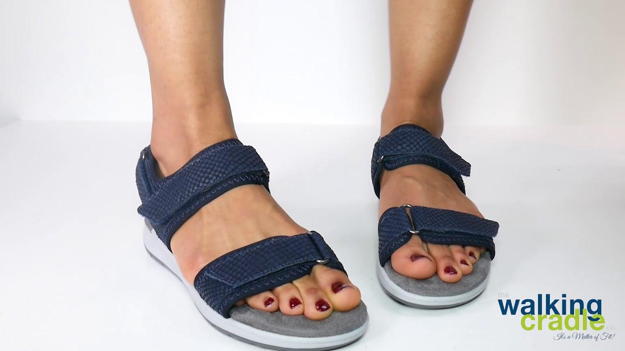 Details about  /Walking Cradles Womens shea Leather Open Toe Casua Choose SZ//color