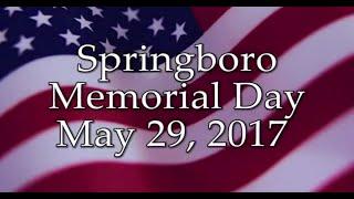 Springboro Memorial Day Service