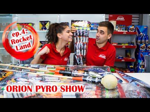 ORION PYRO SHOW - Epizoda 4: Rocket Land (rakete, rimske svijeće i vulkani)