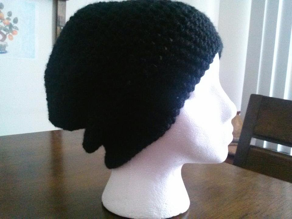 Basic Crown For Crochet Slouchy Hat   Beanie - YouTube f1940dd9ab0