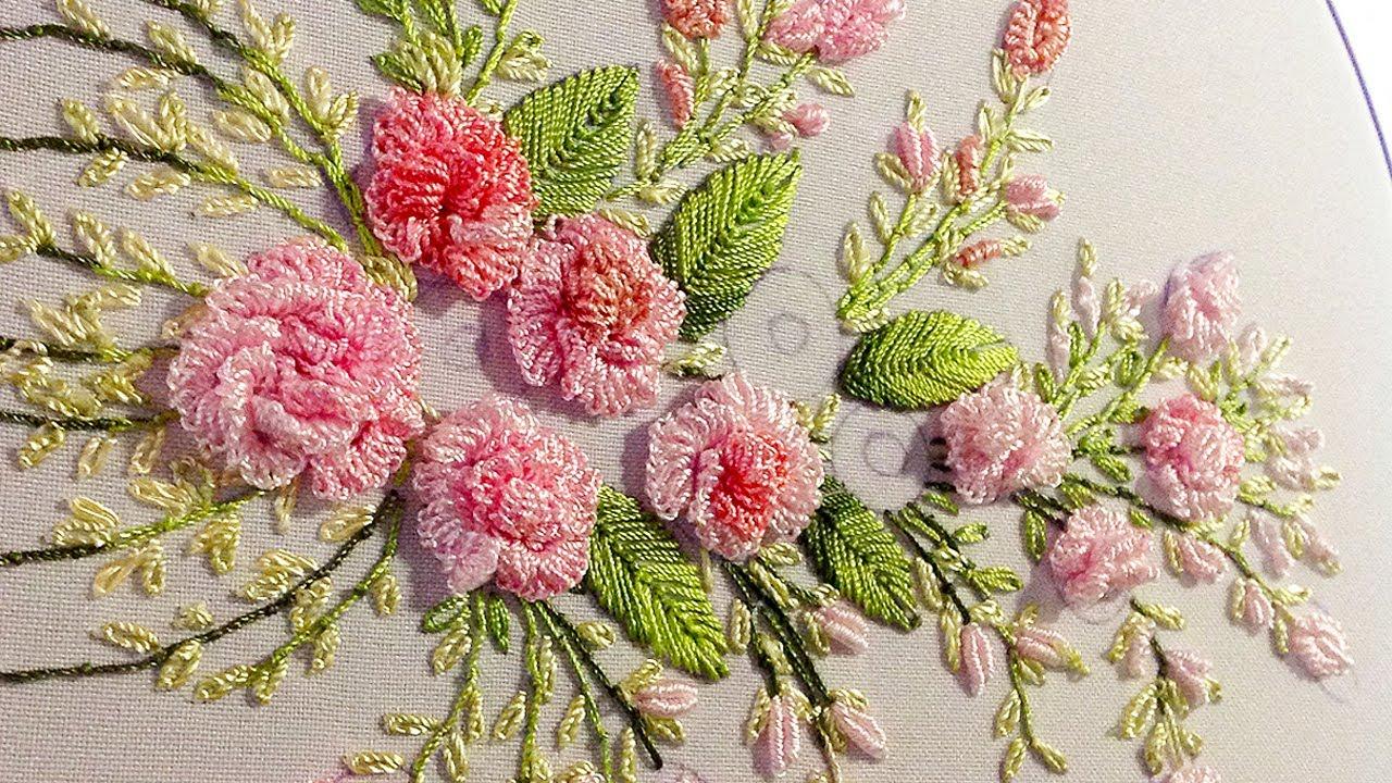 Brazilian Embroidery: cast on stitch