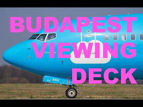 Budapest Airport Viewing Deck