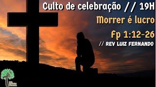 Culto de Celebração 19h // 06 de agosto de 2020 // Igreja Presbiteriana - GV