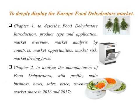 Europe Food Dehydrators Market